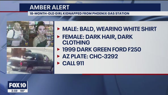 Phoenix Police officials issue AMBER Alert after truck was stolen with girl inside
