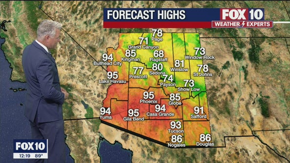 Noon Weather Forecast - 5/10/21