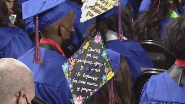 High school graduations underway at Veterans Memorial Coliseum