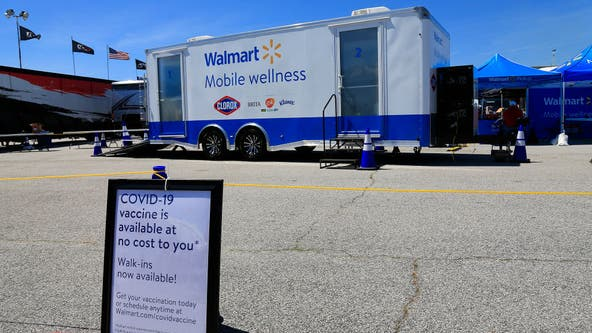 Walmart partners with schools to open COVID-19 vaccine clinics for adolescents