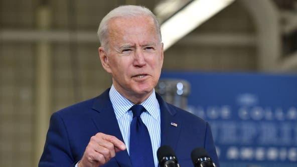 Biden announces 300 million COVID-19 shots given in 150 days