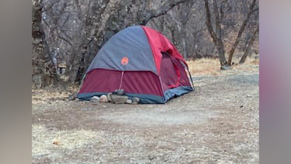 Missing Utah woman found living in tent after disappearing from campsite in November