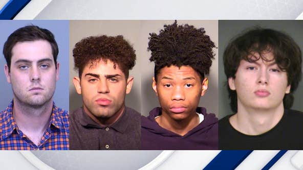 PD: 4 arrested in connection to violent Chandler Mall stabbing
