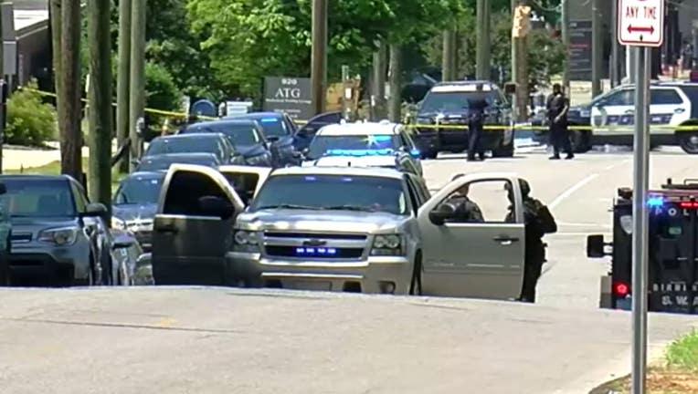 Birmingham police shooting
