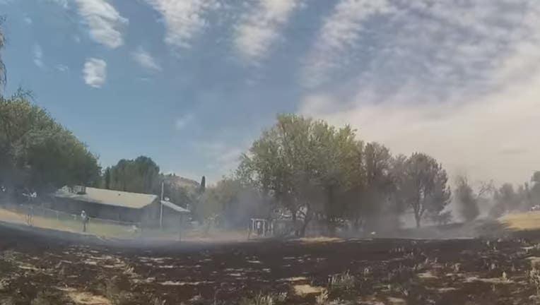Burned Beaver Creek Golf Course