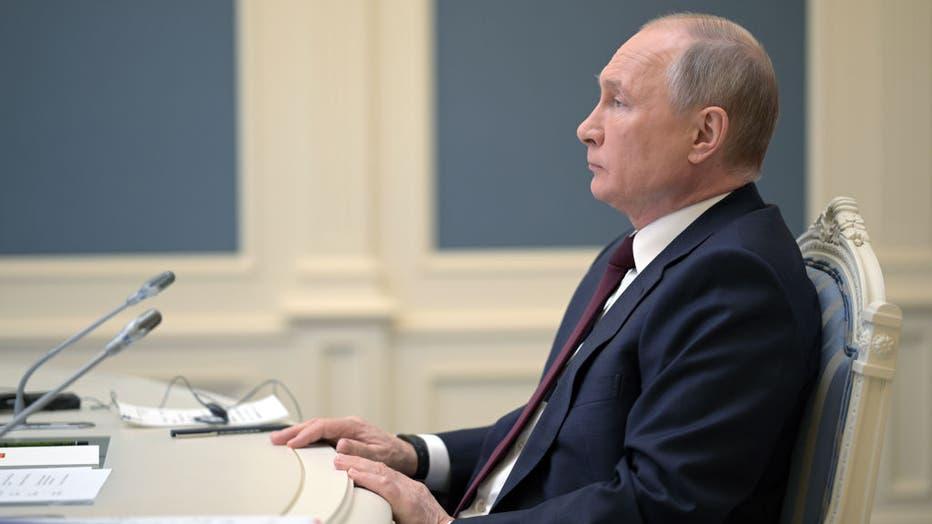Russian President Putin attends Biden's climate summit