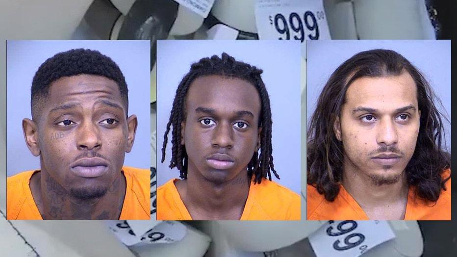 Jamone Williams, Derrick Welch and Darius Sutton