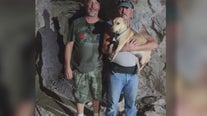 Dog rescued after falling 100 feet down Mohave County mine shaft