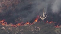 Firefighters face water woes while fighting wildfires in Arizona