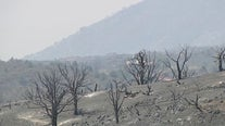 Behind the barrier: A closer look at the Telegraph Fire south of Globe