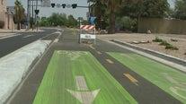 Downtown Phoenix's new two-way bike lane causing crashes