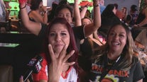 Phoenix Suns fan team up to watch Game 1 of Western Conference Final
