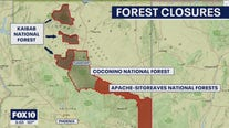 Apache-Sitgreaves, Kaibab and Coconino National Forests to close