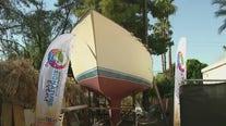 Arizona research sailboat begins 5-year voyage around world