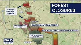 Fear of wildfires forces forest closures across Arizona