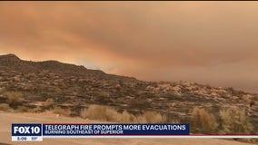 Telegraph Fire shows 'unprecedented' behavior, causes new evacuations