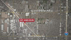 Phoenix Police search for suspect in deadly hit-and-run crash