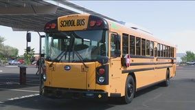 Electric school bus to pick up Cartwright School District students