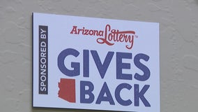 Arizona Lottery steps in to help non-profit organization that was victimized by thieves