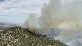 Slate Fire burning near Flagstaff now 17% contained