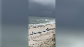 Tropical storm warning issued for parts of Florida, Louisiana, Alabama, Mississippi