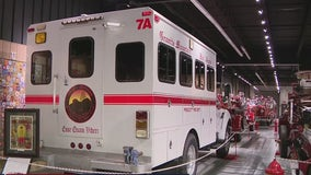 Hall of Flame in Phoenix showcases truck used in deadly Yarnell Fire