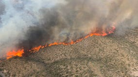 Gov. Ducey issues emergency declarations in response to Telegraph, Mescal Fires