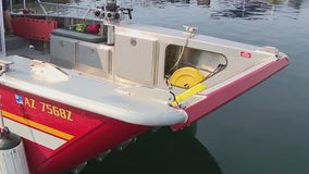 Peoria Fire unveils new boat to perform rescues on Lake Pleasant