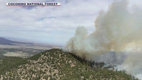Slate Fire burning near Flagstaff grows to 5,000 acres