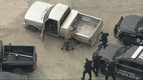 Police chase through Collin County ends with DPS trooper tackling suspect