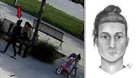 Newborn baby found abandoned in bathroom trashcan at park in Lynwood; person of interest sought
