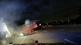 Arkansas woman suing police after PIT maneuver flips her car going 60 mph while she was pregnant