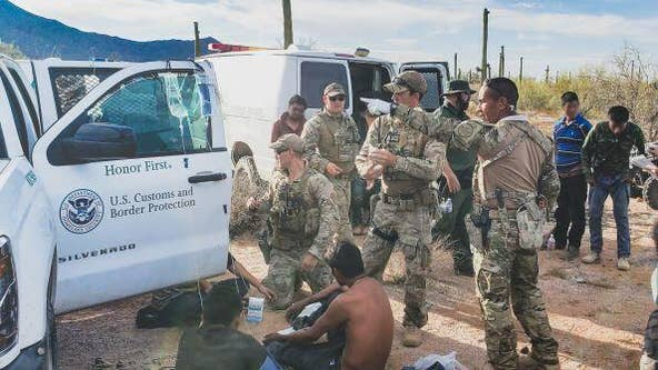 Agents rescue 26 migrants stranded in Arizona borderlands