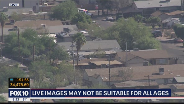 PD searching for suspects following pursuit in Phoenix