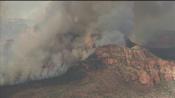 Evacuations ordered for 24K acre Rafael Fire