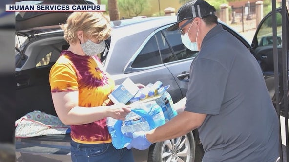 Downtown Phoenix nonprofit needs water donations for the homeless