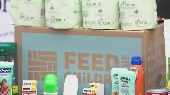 Feed the Children helps families during summer months to stay fed