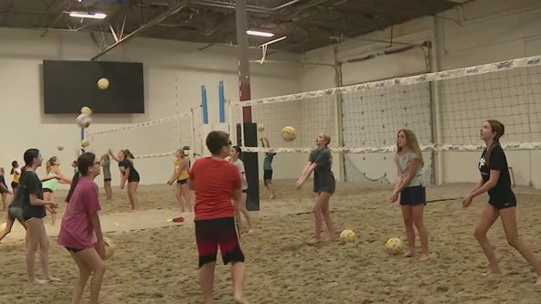 Indoor beach volleyball facility now open in Peoria