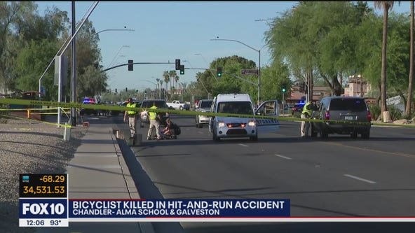 Driver in custody in connection to deadly hit-and-run of bicyclist