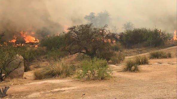 What to know about the Walnut Fire in Cochise County: Evacuations lifted, roads reopened