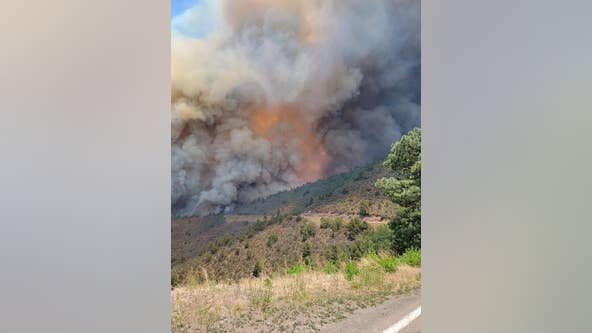Lightning-caused Bear Fire remains 0% contained; what you need to know about the wildfire