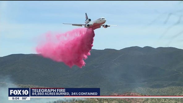 Telegraph Fire burns 84,000 acres; Rep. David Cook speaks out