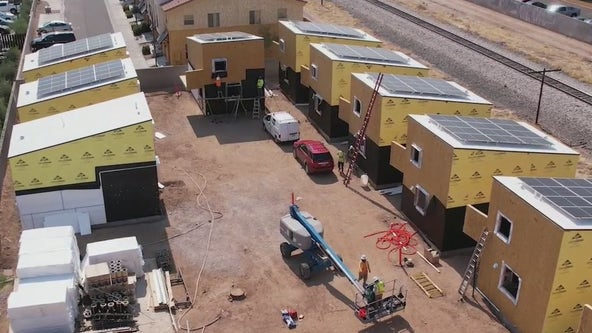 Micro-homes: New affordable tiny homes being built in Tempe