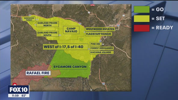 More areas moved to 'SET' for 24K Rafael Fire