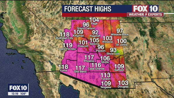 Noon Weather Forecast - 6/17/21
