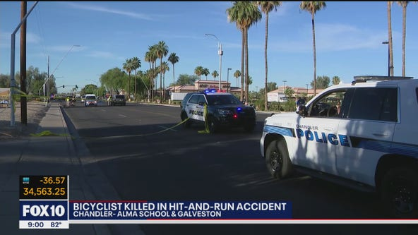 Chandler Police investigating deadly hit-and-run