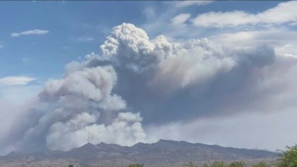 Evacuations lifted for 72,000-acre Mescal Fire burning near Globe