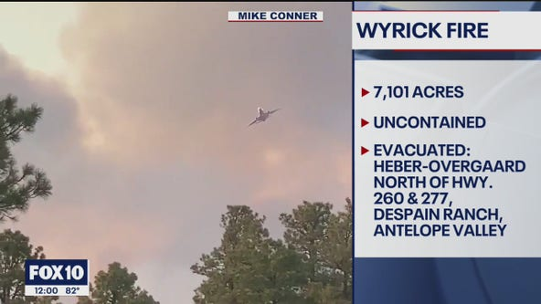 Virtual community meeting to be held for Wyrick Fire
