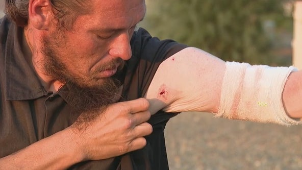 Victim of West Valley shooting spree speaks out