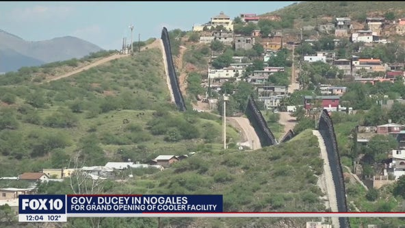 Gov. Ducey visits Nogales for grand opening of cooler facility